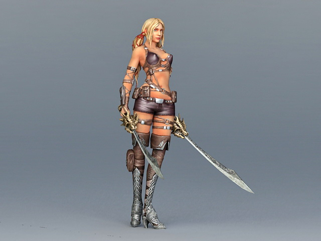 girl Sexy warrior