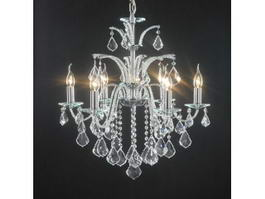 Swarovski Chandelier Lamp 3d model