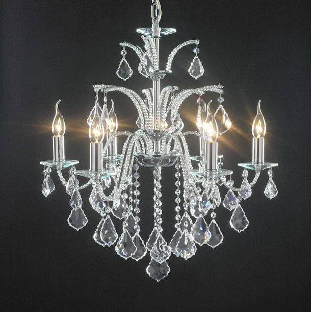 Swarovski Chandelier Lamp 3d rendering