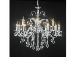 Chandelier Crystal Candlesticks 3d model