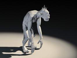 Smeagol Gollum 3d model