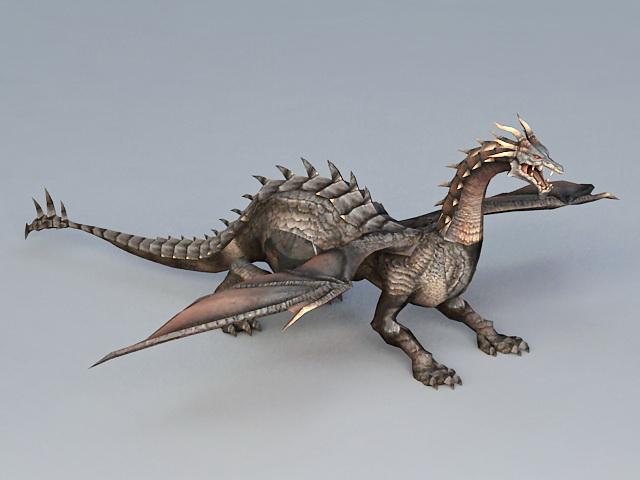Epic Dragon 3d model