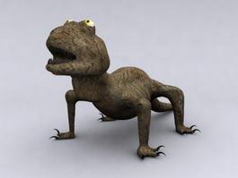 Giant Lizard 3d model
