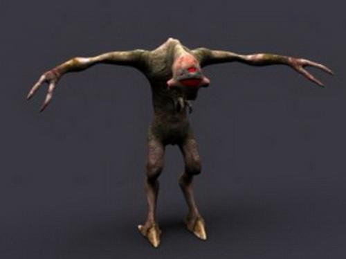 Scary Beast 3d model