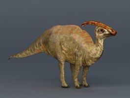 Charonosaurus Dinosaur 3d model