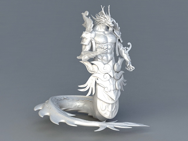 Chinese Dragon King 3d model