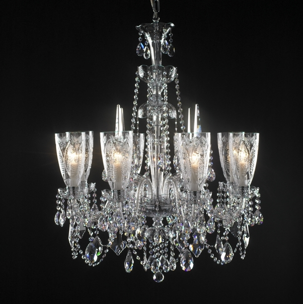 Modern Crystal Chandeliers 3d model 3ds Max files free download ...