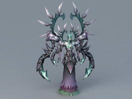 Powerful Humanoid Demon 3d model
