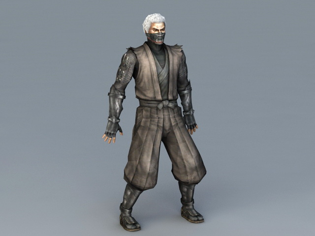Male Ninja Assassin 3d model