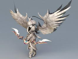 Fallen Angel Archer 3d model