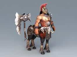 Centaur Warrior Male 3d model