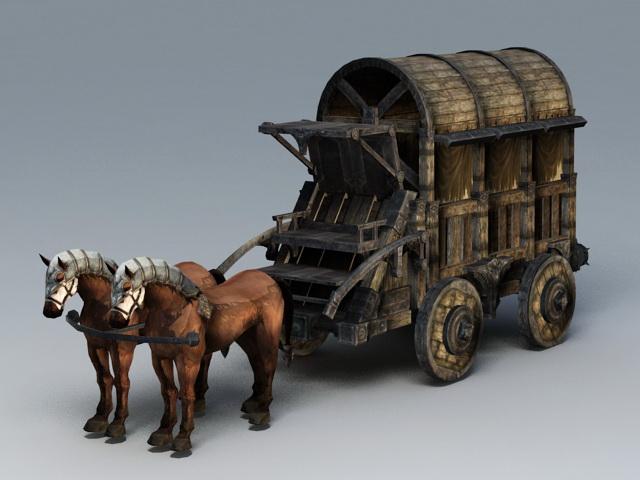 Image result for medieval horse cart