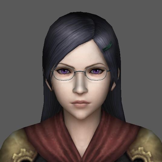 Female Teacher 3d model