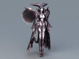 Fallen Angel Devil 3d model