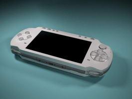 PlayStation Portable PSP 3d model