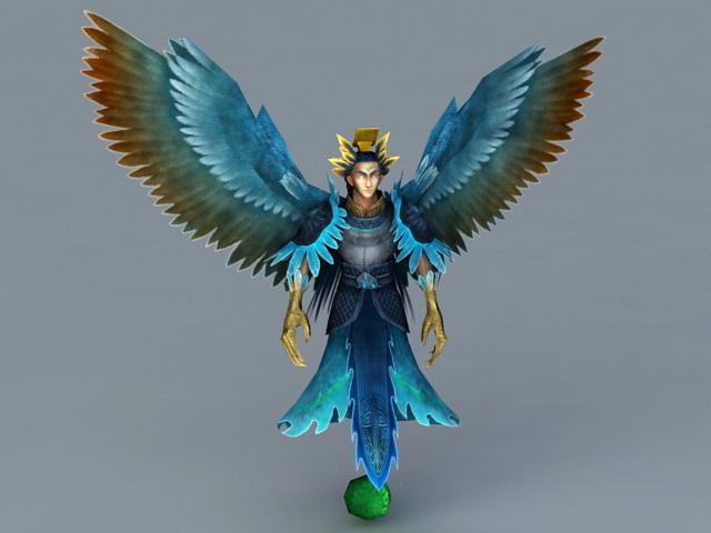 Bird Man 3d model
