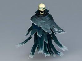 Skull Ghost 3d model