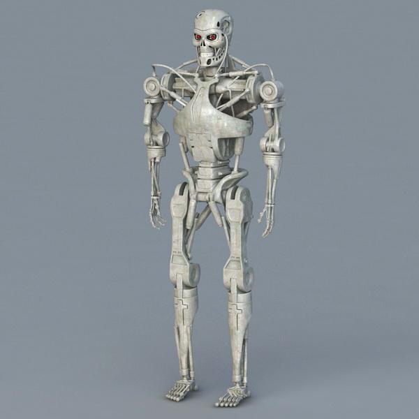 Terminator T 800 Endoskeleton 3d Model 3ds Max Object