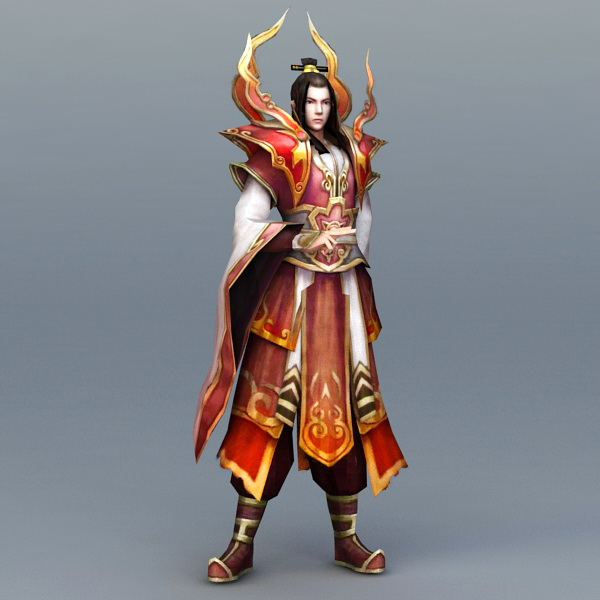 Male Battle Mage 3d Model 3ds Max Files Free Download