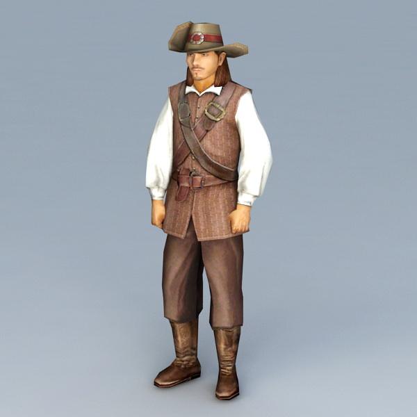 Cowboy Concept Art Duster