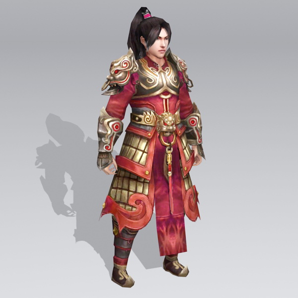 Ancient Chinese General Warrior 3d model