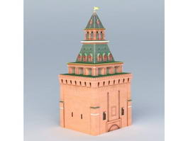 Konstantino-Eleninskaya Tower 3d model