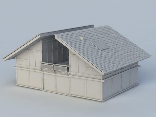 Old Abandoned House 3d model - CadNav