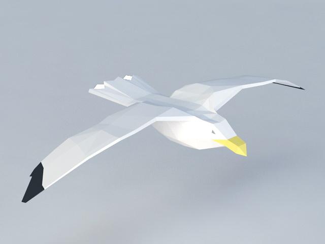 Sea Mew 3d model