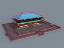 Chinese Imperial Palace 3d model