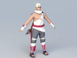 Naruto Shippuden Killer Bee 3d model