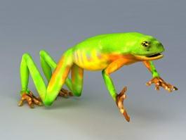 Jade Tree Frog 3d model