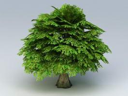 Low Poly Unity Tree 3d model