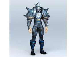 Warcraft Death Knight Art 3d model