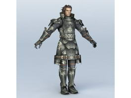 Medieval Knight Character 3d model