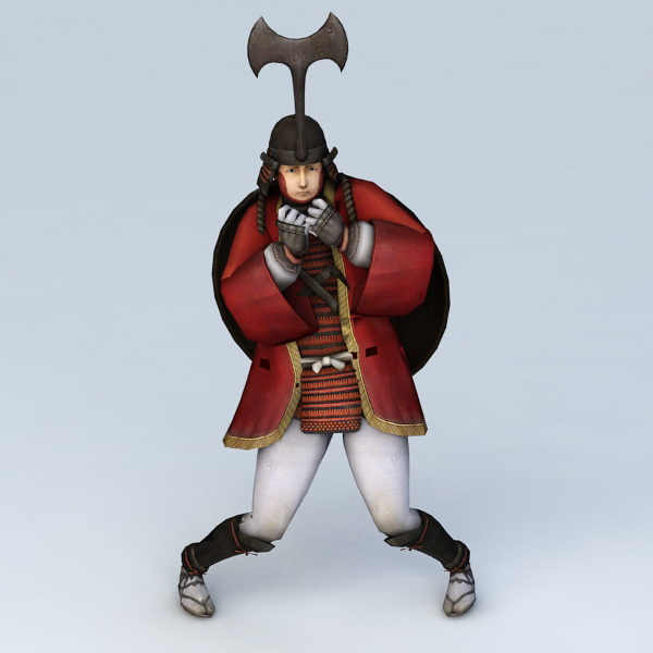 Samurai Guy 3d model