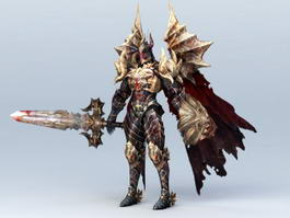 Demon Knight 3d model