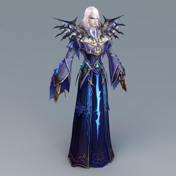 Magic Evil Wizard 3d model