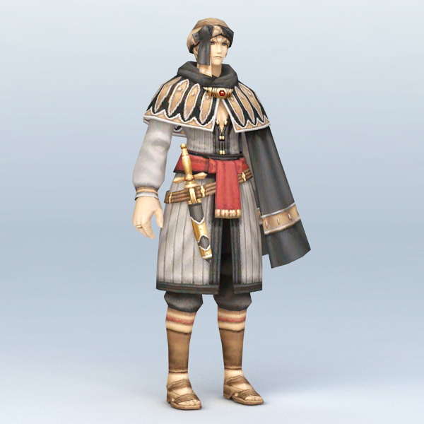 Ancient Persian Warrior 3d model