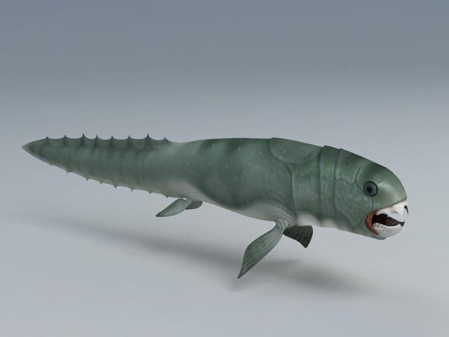 Prehistoric Fish 3d model