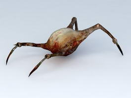 Half-Life Headcrab 3d model