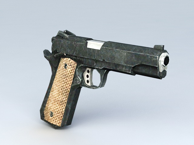 Handgun Weapon 3d model