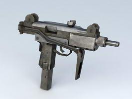 Uzi Pistol 3d model
