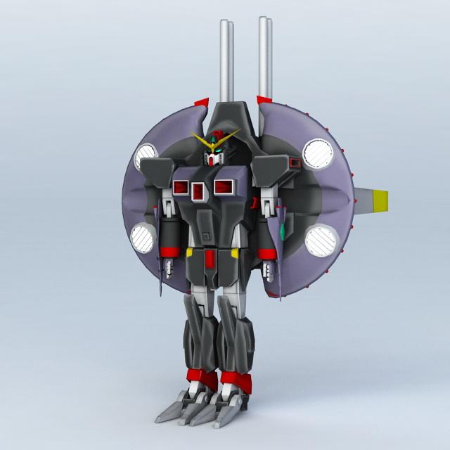 Gundam Seed Destiny Destroy 3d model