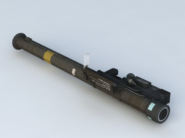 Portable Missile Launcher 3d model