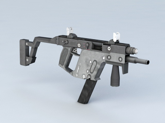 Cobra Submachine Gun 3d model