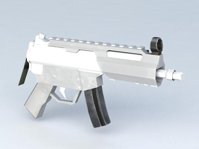 Small Submachine Gun 3d model