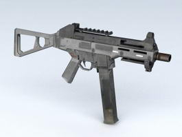HK MP5 Submachine Gun 3d model