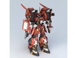 Super Robot Wars Mecha 3d model
