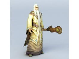 Hobbit Wizard Gandalf 3d model