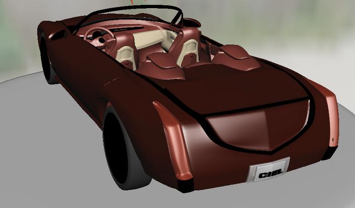 Cadillac ATS Convertible 3d model